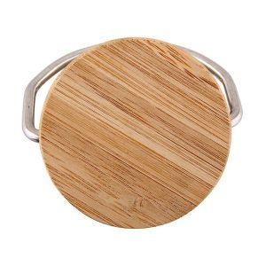 Stainless Steel Bamboo Lid 3